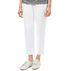Dash - Cotton Stretch Trouser White