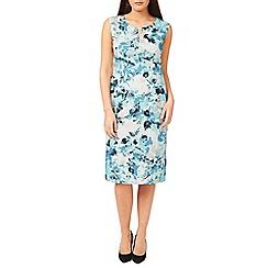 Windsmoor - Printed Aqua Dress