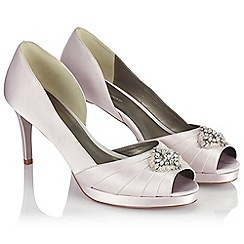 Jacques Vert - Embellished Pleat Shoe