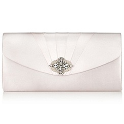 Jacques Vert - Embellished Pleat Bag