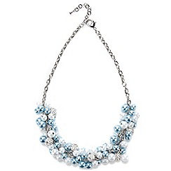 Jacques Vert - Pearl Cluster Necklace