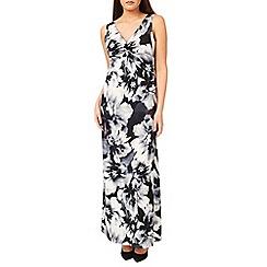 Windsmoor - Mono Floral Printed Maxi Dress