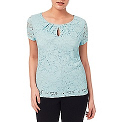 Windsmoor - Aqua Lace Top