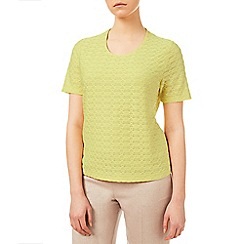 Eastex - Lemon Yellow Texture Top