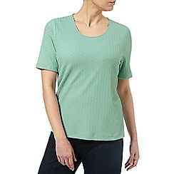 Eastex - Mint Pique Top