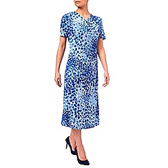 Eastex - Multi Squares Wrap Dress