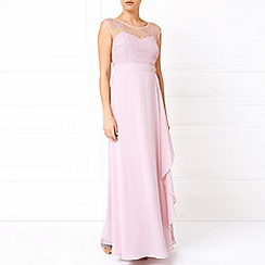Jacques Vert - Lace Overlayer Soft Drape Gown
