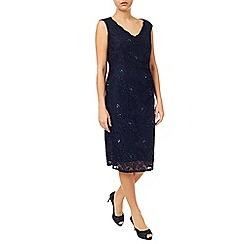 Jacques Vert - Embellished Lace Dress