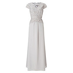 Jacques Vert - Lace Cross Bodice Maxi Gown