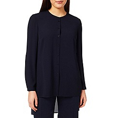 Windsmoor - Navy Sheer Blouse