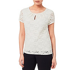 Windsmoor - Contrast Lining Lace Top