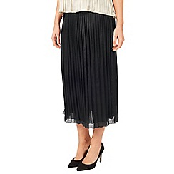 Windsmoor - Black Crinkled Skirt