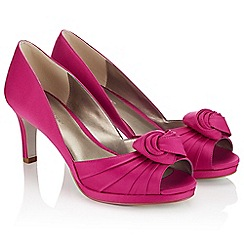 Jacques Vert - Twist Pleat Platform Shoe