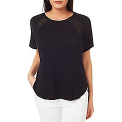 Windsmoor - Jersey And Chiffon Raglan Top