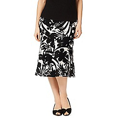 Precis - Palm Print Skirt