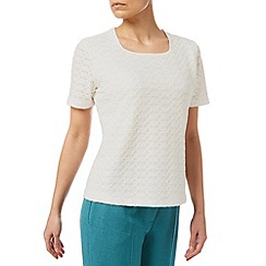 Eastex - Square Neck Texture Top