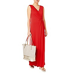 Jacques Vert - Maxi Wrap Front Jersey Dress