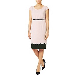 Jacques Vert - Scallop Contrast Layer Dress