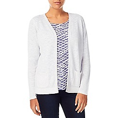 Dash - Edge To Edge Linen Mix Cardi