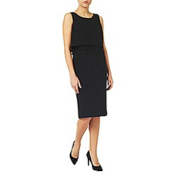 Jacques Vert - Plain Layer Crepe Dress