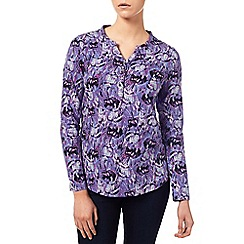 Dash - Feather Print Top
