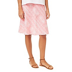 Dash - Printed Linen Skirt