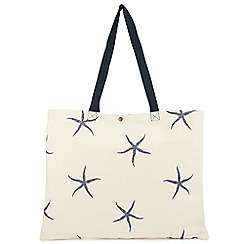 Dash - Starfish Canvas Bag
