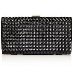 Jacques Vert - Embellished Black Clutch Bag