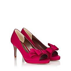 Jacques Vert - Bow Trim Platform Shoe