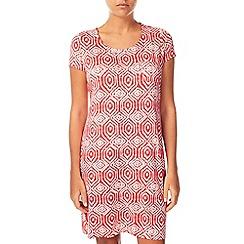 Dash - Coral Print Maxi Dress