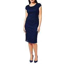 Windsmoor - Navy Viola Lace Dress