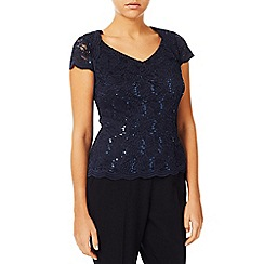 Jacques Vert - Jersey Stretch Sequin Top