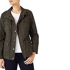 Dash - Waxed Jacket Teal