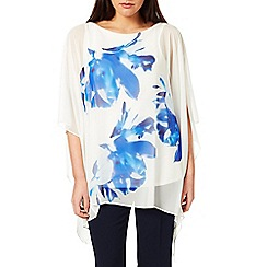Windsmoor - Blue And White Print Kaftan