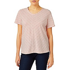 Dash - Coral Relaxed V T-Shirt