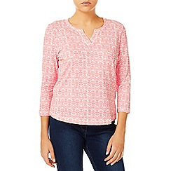 Dash - Notch Neck Sale Buy Coral