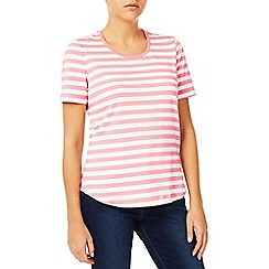 Dash - Pink Stripe Scoop T-Shirt
