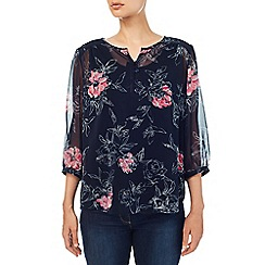 Dash - Etched Rose Blouse