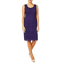 Jacques Vert - V Neck Lace Dress
