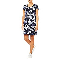Dash - Feather Print Dress