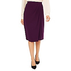 Eastex - Mock Wrap Crepe Skirt