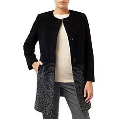 Eastex - Ombre Stripe Wool Coat
