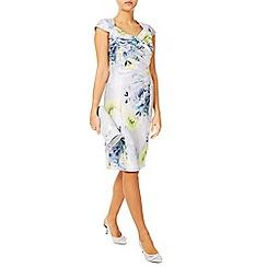 Jacques Vert - Misted Bloom Shantung Dress