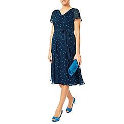 Jacques Vert - Soft Prom Spot Midi Dress