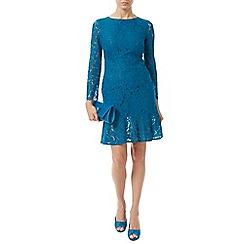 Jacques Vert - Lace Flute Hem Dress