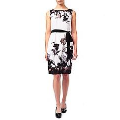 Jacques Vert - Petite Shadow Floral Dress