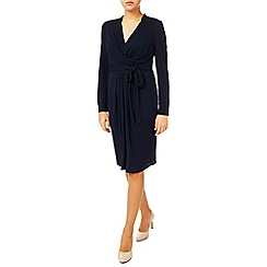 Jacques Vert - Drape And Pleat Jersey Dress