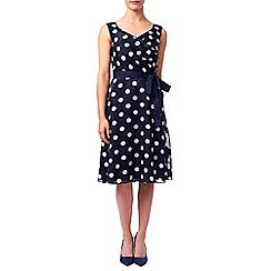 Jacques Vert - Petite Spot Burnout Dress