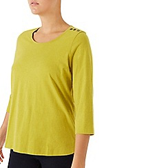 Dash - Peached Chartreuse Top