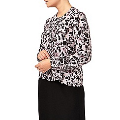 Eastex - Winterbourne Rose Print Blouse